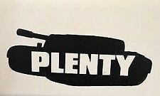 PLENTY IN THE TANK sticker decal jdm drift funny adult humor Simply Loveleh