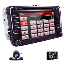 VW Volkswagen LCD DVD GPS Navigator Car Dash Radio Audio Player+Map Card