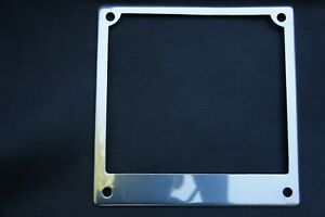 VESPA LAMBRETTA Chrome Number Plate Surround