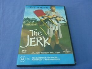 The Jerk DVD Steve Martin Bernadette Peters R2,4 Free Postage