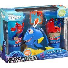 Finding Dory Soap & Scrub Bath Set Shampoo Body Wash Bath Scrubby Bubbly Berry
