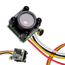 3g Micro Night Vision 600TVL FPV Camera 720P 0.5LUX Lens IR for RC Drone w/Audio