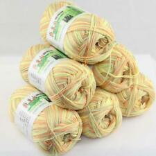 Lot 6 Skeinsx50g Soft Bamboo Cotton Baby Wrap Hand Knitting Crochet Yarn 35