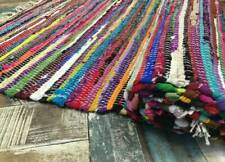Glamping Festival Square Rag Rug 240 x 240 cm Rainbow Rug Faulty Rug Half Price