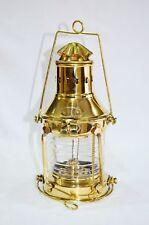 "10"" New Vintage Style Brass Nautical Miner Ship Lantern Oil Lamp Maritime Decor"