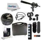 "Vidpro XM-55 11"" Condenser Shotgun Video & Broadcast Microphone Kit 16 Piece Set"