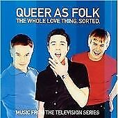 (IO349) Queer As Folk, Music From The TV Series - 1999 double CD