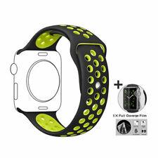 Reemplazo De Silicona Para Apple iwatch deportivo con correa de reloj 1/2/3/4 40mm 44mm