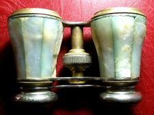 Vintage antique Binoculars with shell