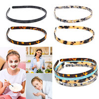 Tortoise Shell Headband Teeth Comb Cellulose Acetate French Headband for Women