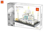 World Famous Landmarks India Taj Mahal Building Bricks Construction Blocks Toy