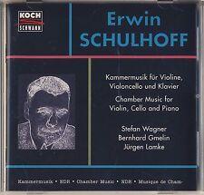 Schulhoff - Wagner, Gmelin, Lamke: Chamber Music (Koch Schwann) Like New