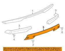 Chevrolet GM OEM 15-18 Corvette Rear Bumper-Spoiler Center 84056039