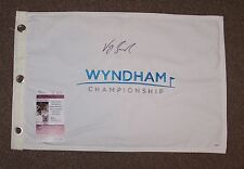 VIJAY SINGH AUTO AUTOGRAPH SIGNED WYNDHAM GOLF TOURNAMENT FLAG JSA