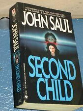 Second Child by John Saul *FREE SHIPPING *  0553287303