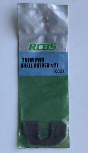 New! RCBS Trim Pro Case Trimmer Shell Holder #21 Model 90321 for Reloading 303