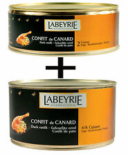 Labeyrie confit de canard 2 doses - 1x 4/6 canards massues & 1x 2 canards massues