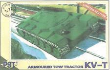 PST 72038 Russian KV-T Armored Tow Tractor 1/72 Scale (free shipping)