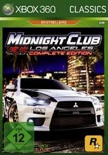 XBOX 360 Midnight Club 4 LOS ANGELES COMPLETE */come nuovo