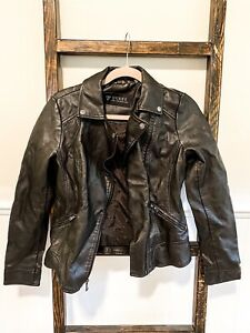 Guess Los Angeles Women's Leather Jacket Size S