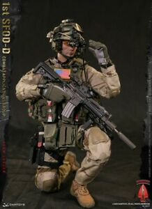 DAMTOYS 1ST SFOD-D COMBAT APPLICATIONS TEAM LEADER Box Fig 1/6 ACTION FIGURE TOY