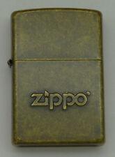 ZIPPO Benzin-Sturmfeuerzeug in OVP - Antique Brass ZIPPO ........Z1505