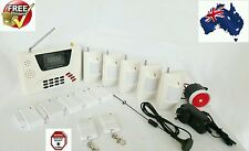 GSM+Phone Line Wireless Home security Burglar House Alarm System Detector Sensor