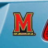 Maryland Terrapins Heavy Duty Metal 3-D Color Auto Emblem
