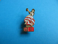 Shell Pin badge National Costumes. (E) Spain