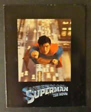 """He grows up in Smallville, USA and becomes """"SUPERMAN"""" the Movie - Movie Program"""