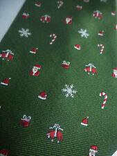 Brooks Brothers Christmas Holiday Golden Fleece Logo SILK TIE  $79 NWOT New USA