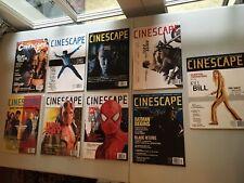 Cinescape Magazine Lot Of 9 2003-2004 T3 X-Men Hellboy Star Wars LN