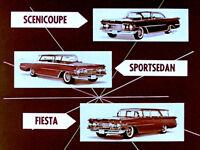 1959 Oldsmobile Dealer Promo A Rocket For Every Pocket - MP4 Film on CD