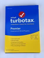 TURBOTAX PREMIER  2019 - Federal + State - PC/Mac Disc -  SEALED
