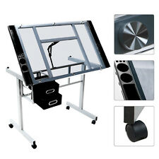 Adjustable Drawing Desk Drafting Table For In Bed Laptop Art Craft Home Office