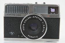 Agfa Optima 200 sensor mit Color Apotar 2,8/42mm #FV5074AY