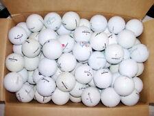 100 Stck Golfbälle Markenmix weiß Callaway Srixon Nike Bridgestone u.a.AAAA - AA