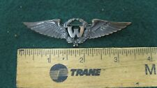 Uncommon! Ww2 Netherlands Dutch East Indies Navigator Wing Amico