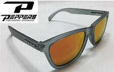 7785a1033a NEW Peppers 2-Step Grey Red Mirror Polarized Mens Sunglasses Msrp 35
