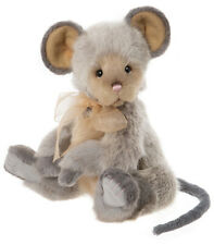 Roulade by Charlie Bears - collectable plush jointed mouse - CB202047