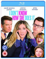 I Don ' t Know How She Does It BLU-RAY NUEVO Blu-ray (ebr5200)