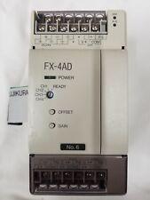 New Surplus Mitsubishi FX-4AD Programmable Controller No Box Free Shipping