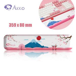 Akko World Tour Tokyo Memory Foam Wrist Rest for Keyboard 87 Keys TKL Size NEW