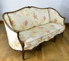 Beautiful antique style French 3 seater sofa settee
