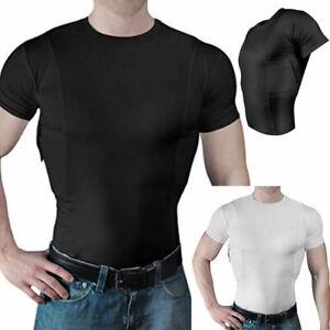 Mens Military T-shirt Tactical Short Sleeve Combat Shirt Fitness Combat Blouse