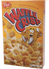 Post Waffle Crisp Cereal Waffle & Syrup Flavor 11.05oz Unopened Sealed Box 3/21