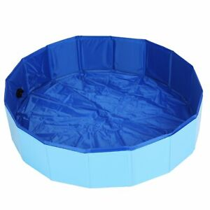Portable Pet Bath Pool Foldable Swimming Pool For Dog Puppy Shower Tub Accessory