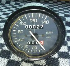 Vintage Veglia Borletti 80mm Speedometer & Trip Cable