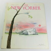 The New Yorker: August 1 1988 - Full Magazine/Theme Cover Ronald Searle