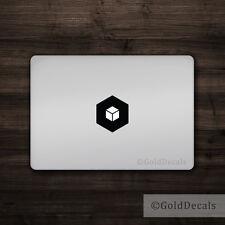 Cube - Mac Apple Logo Cover Laptop Vinyl Decal Sticker Macbook Unique